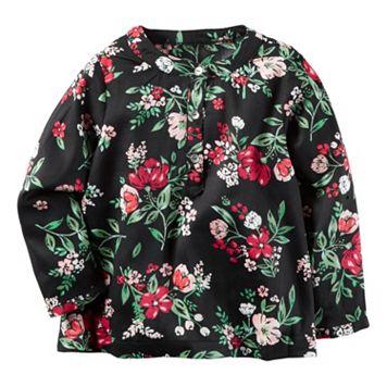 Girls 4-8 Carter's Floral Babydoll Top