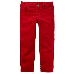 Girls 4-8 Carter's Red Corduroy Pants