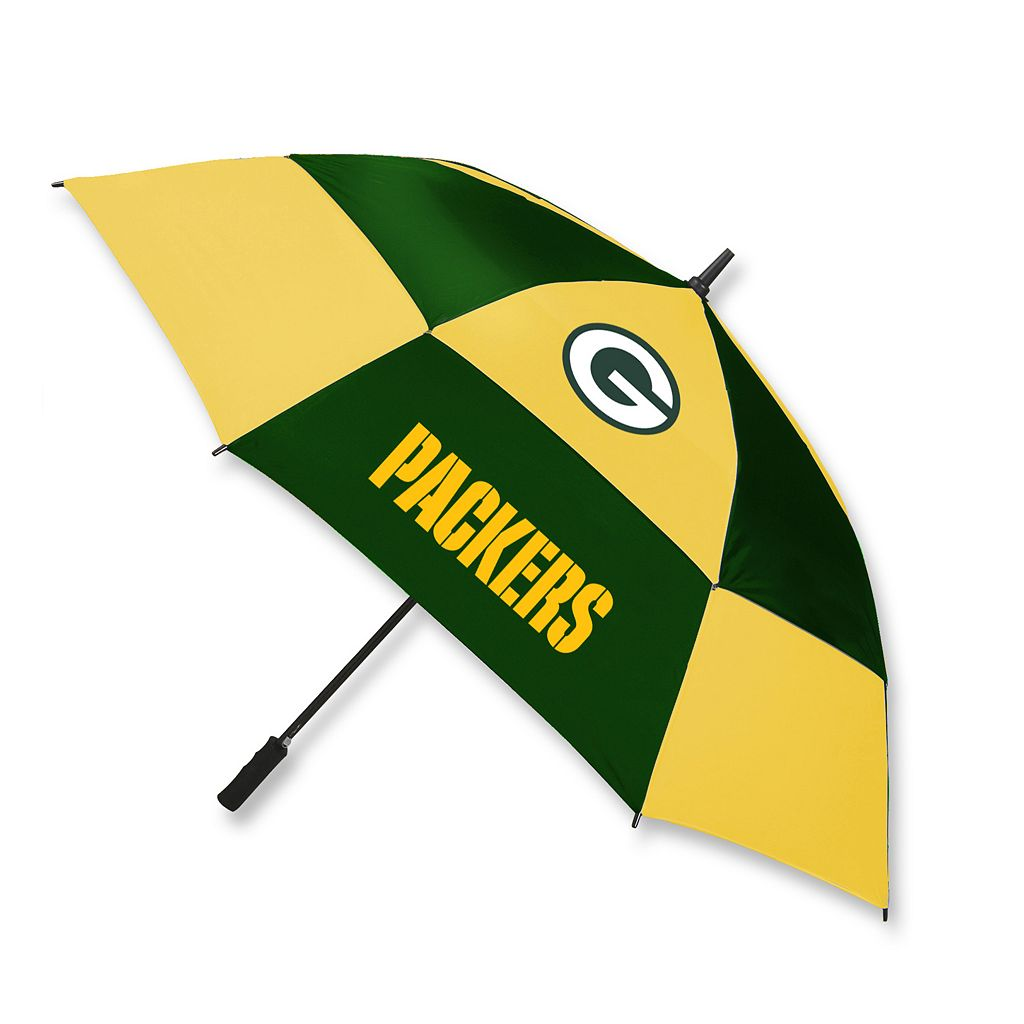McArthur Green Bay Packers Vented Golf Umbrella