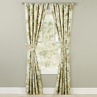 Home Classics® 2-pack Rose Window Curtains