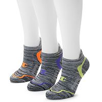 Women's Champion 3-pk. Marled Tabbed No Show Socks