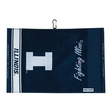 Team Effort Illinois Fighting Illini Jacquard Towel