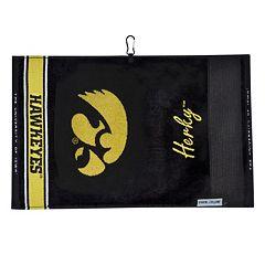 Team Effort Iowa Hawkeyes Jacquard Towel