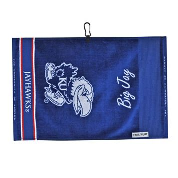 Team Effort Kansas Jayhawks Jacquard Towel