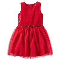 Girls 4-8 Carter's Red Holiday Dress