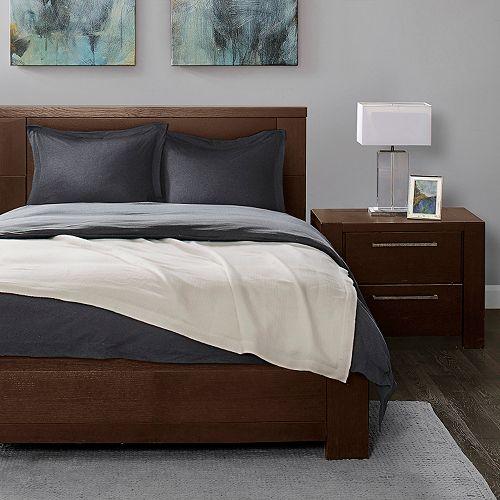 Madison Park Signature Luxury Wool Oversized Bed Throw
