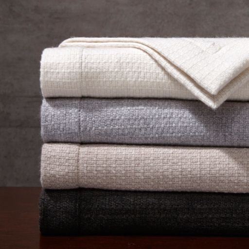 Madison Park Signature Luxury Oversized Wool Throw