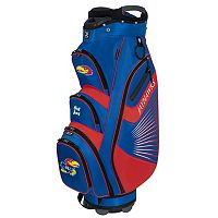 Team Effort Kansas Jayhawks The Bucket II Cooler Cart Golf Bag