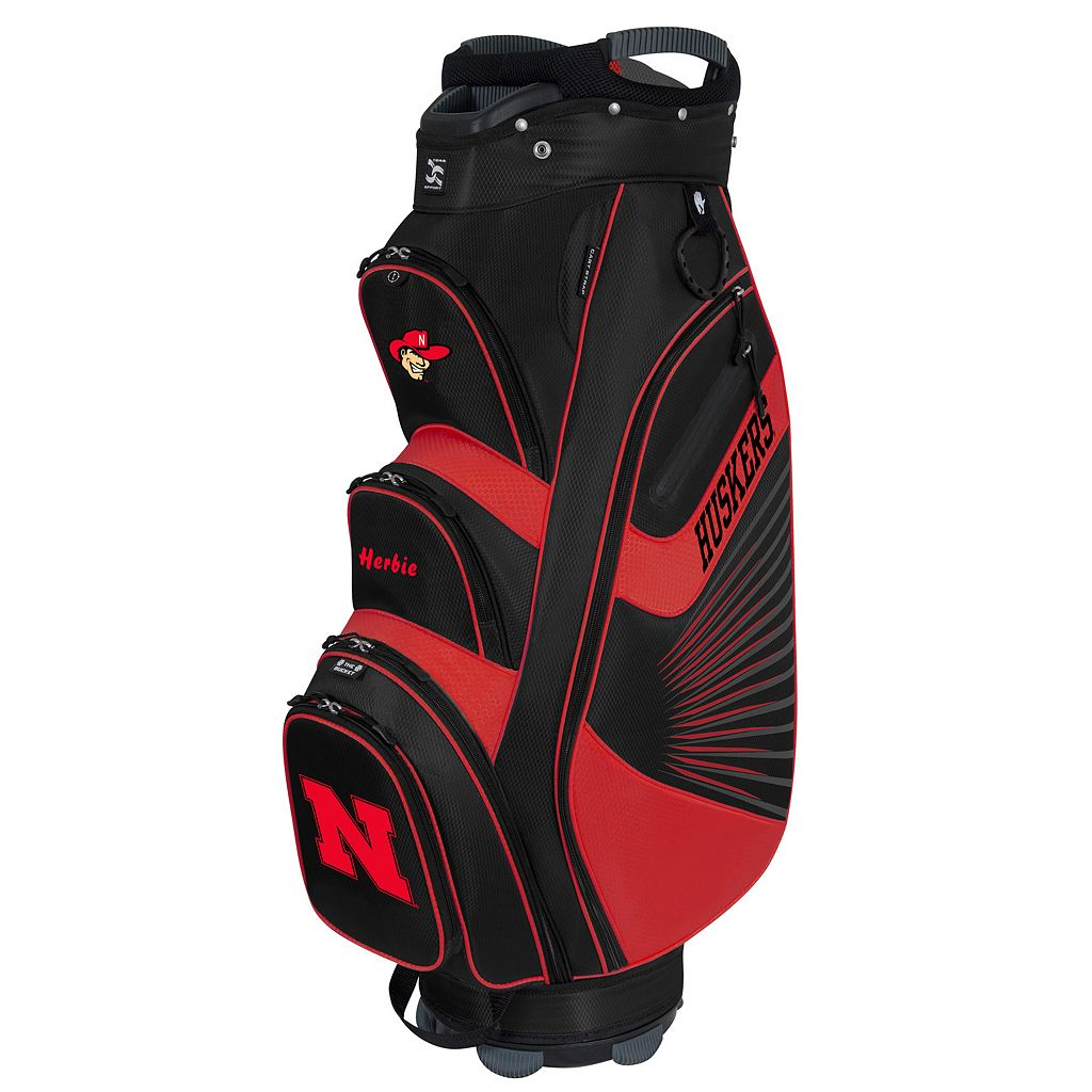 Team Effort Nebraska Cornhuskers The Bucket II Cooler Cart Golf Bag