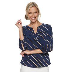 ed4f17de4d1 Women s Dana Buchman Knit Henley Top