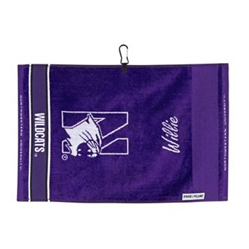 Team Effort Northwestern Wildcats Jacquard Towel