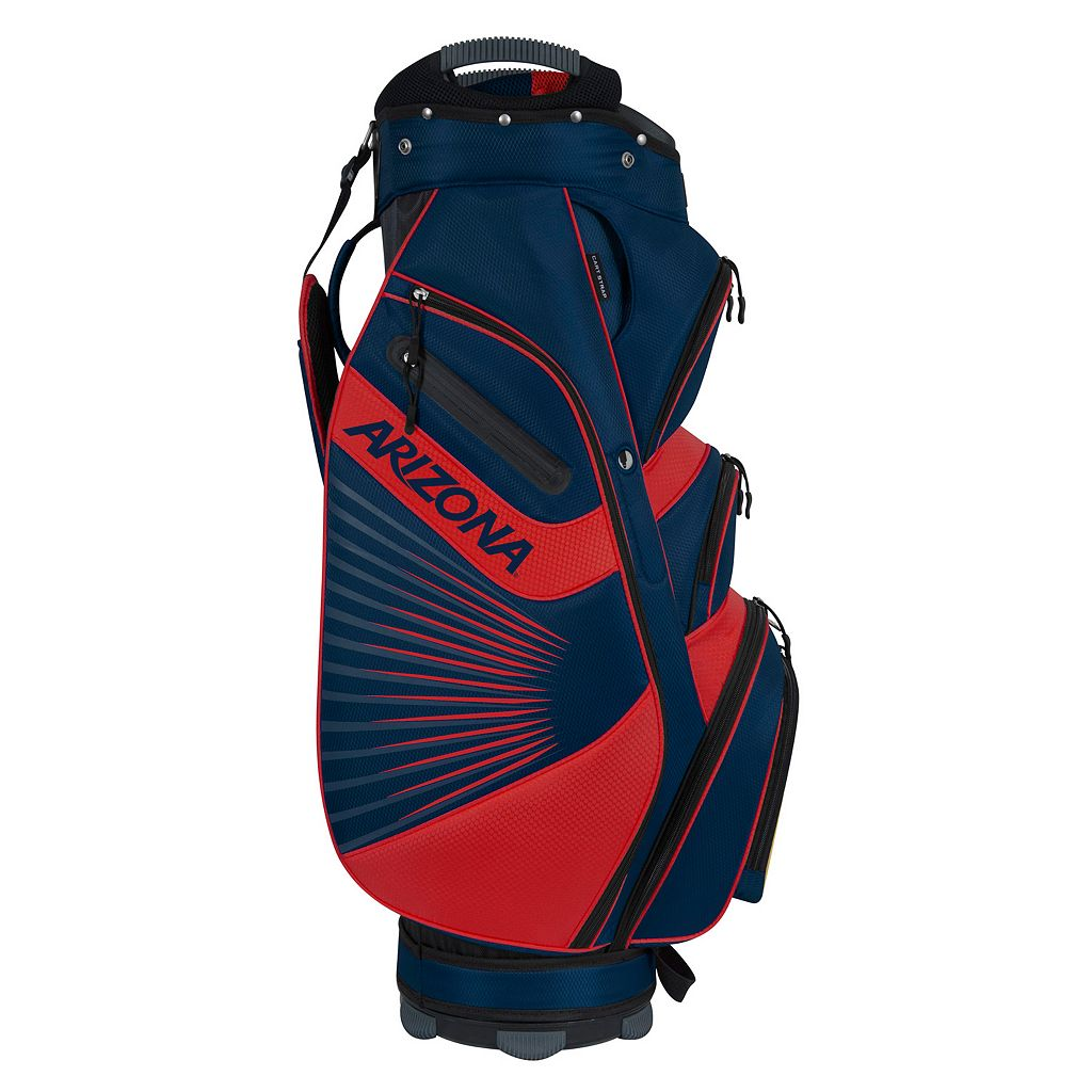 Team Effort Arizona Wildcats The Bucket II Cooler Cart Golf Bag