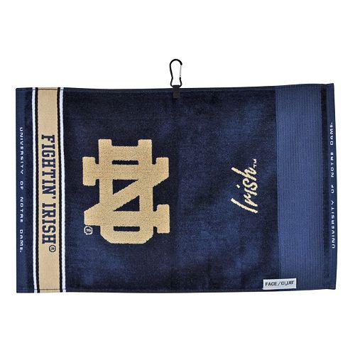 Team Effort Notre Dame Fighting Irish Jacquard Towel