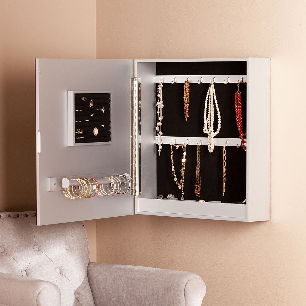 Bethany Wall Jewelry Armoire