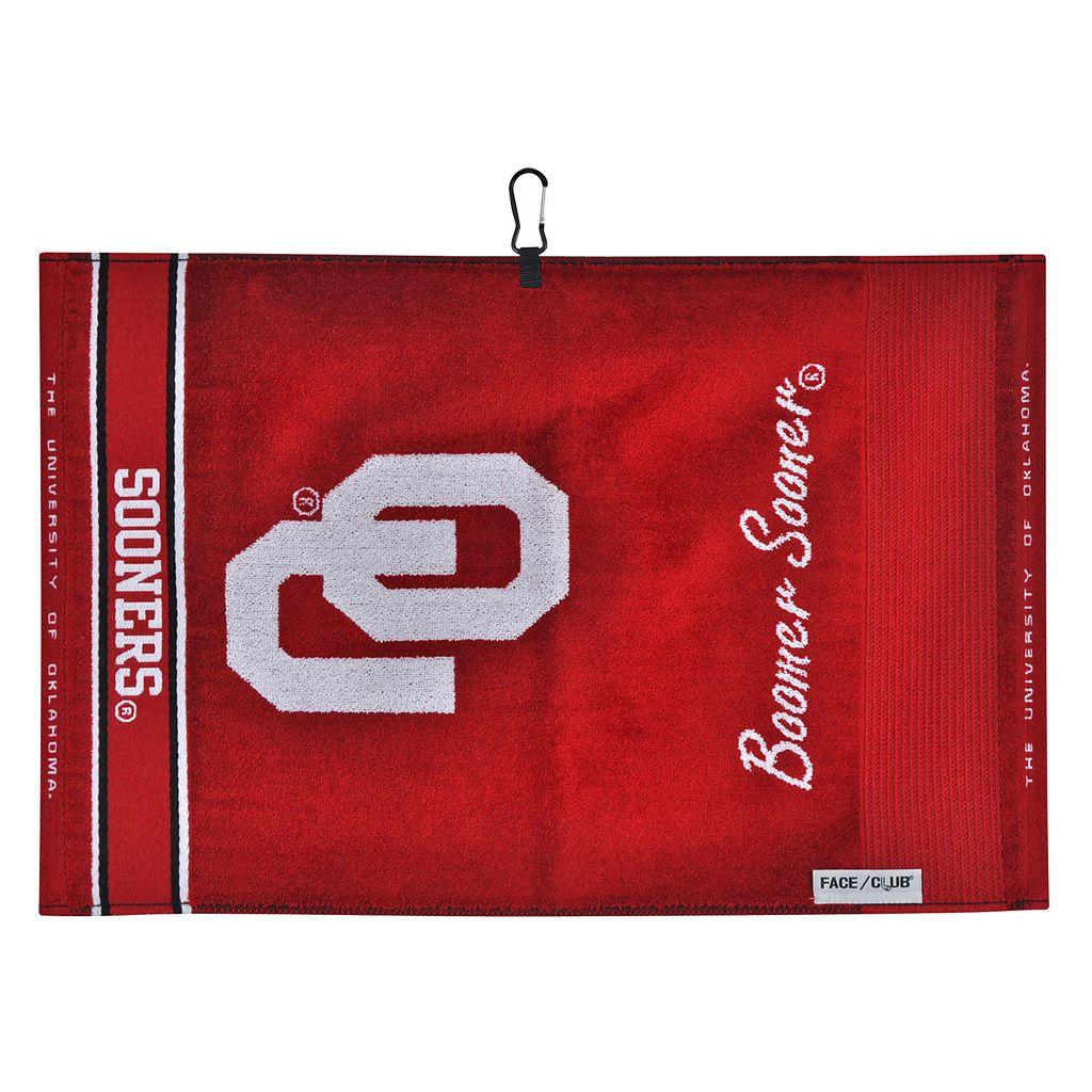 Team Effort Oklahoma Sooners Jacquard Towel