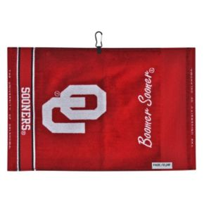 Team Effort Oklahoma Sooners Jacquard Towel