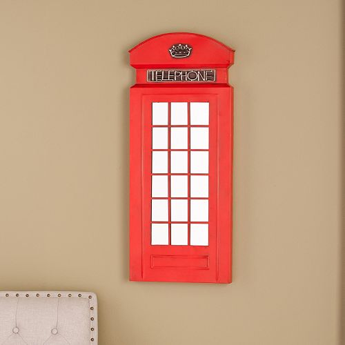 Rigsy Phone Booth Wall Mirror