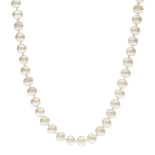 PearLustre by Imperial 5-5.5 mm Freshwater Cultured Pearl Necklace - 23 in.