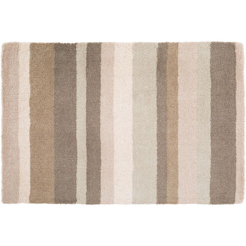Decor 140 Tamworth Stripes Wool Rug, Grey, 2X3 Ft