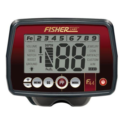 Fisher F44 Weatherproof Metal Detector