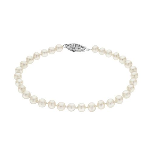 PearLustre by Imperial 5-5.5 mm Freshwater Cultured Pearl Bracelet - 7 in.