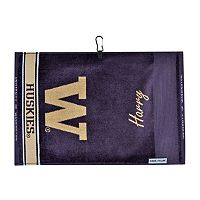 Team Effort Washington Huskies Jacquard Towel