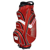 Team Effort Wisconsin Badgers The Bucket II Cooler Cart Golf Bag