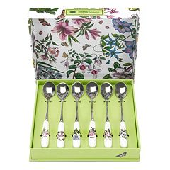 Portmeirion Botanic Garden 6 pc Teaspoon Set