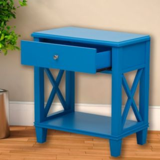 Pulaski X-Frame End Table