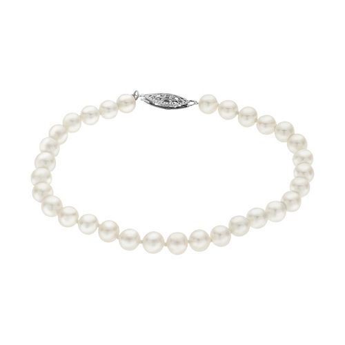 PearLustre by Imperial 6-6.5 mm Freshwater Cultured Pearl Bracelet - 7 in.