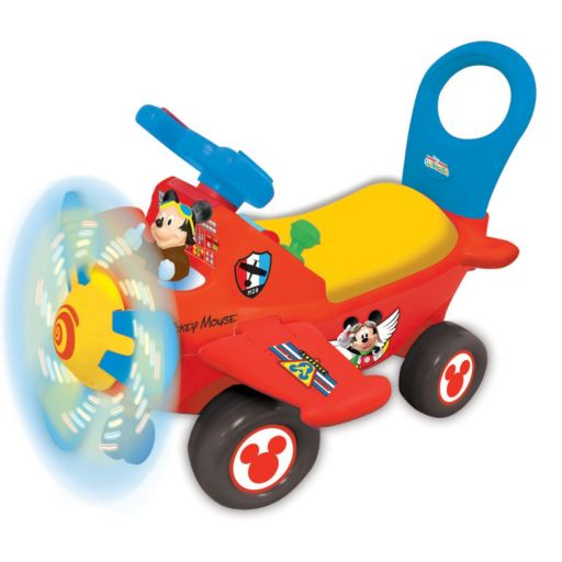 Disney's Mickey Mouse Clubhouse Plane Light & Sound Ride-On by Kiddieland