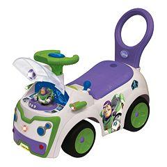 Disney \/ Pixar Toy Story Buzz Lightyear Light & Sound Activity Ride-On by Kiddieland by