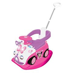 Disney's Minnie Mouse 4-in-1 Activity Ride-On by Kiddieland by