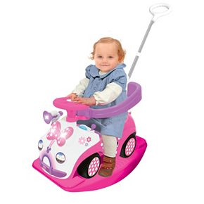 Disney's Minnie Mouse 4-in-1 Activity Ride-On by Kiddieland