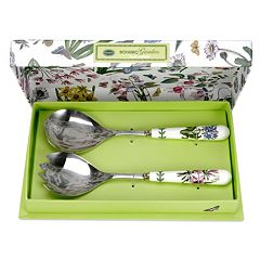 Portmeirion Botanic Garden 2 pc Salad Spoon Set
