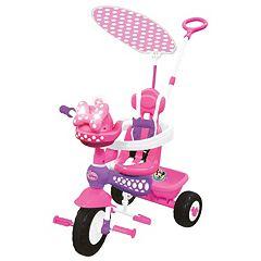 Disney's Minnie Mouse Push N' Ride Trike by Kiddieland  by