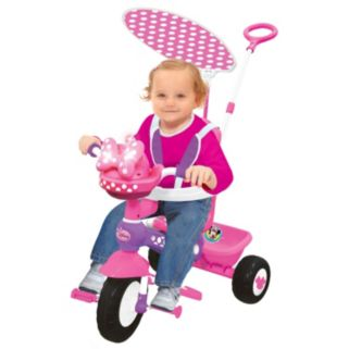 Disney's Minnie Mouse Push N' Ride Trike by Kiddieland