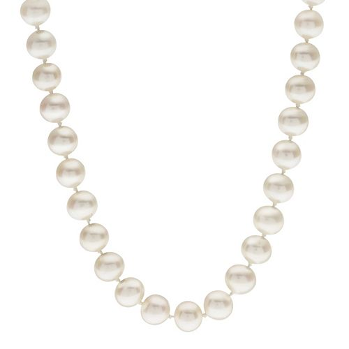 PearLustre by Imperial 7-7.5 mm Freshwater Cultured Pearl Necklace - 16 in.