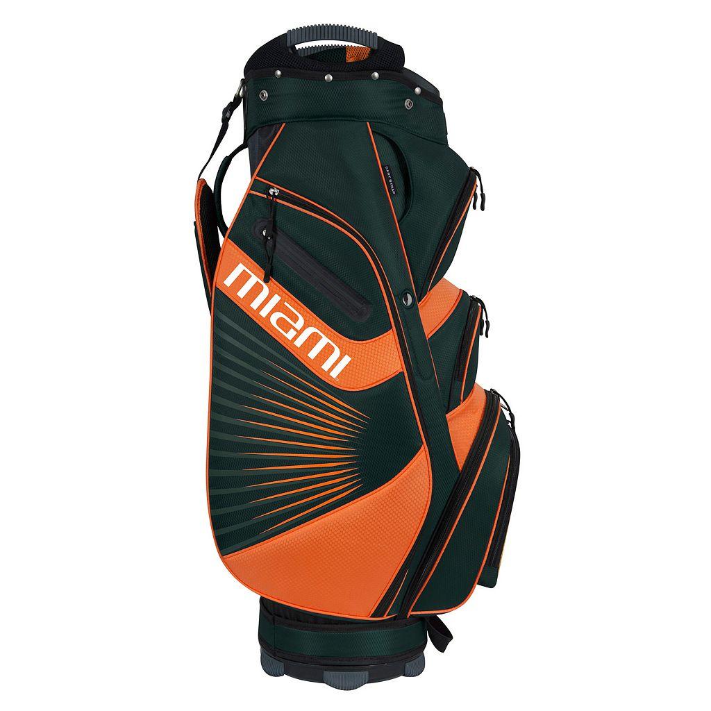 Team Effort Miami Hurricanes The Bucket II Cooler Cart Golf Bag