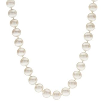 PearLustre by Imperial 7-7.5 mm Freshwater Cultured Pearl Necklace - 23 in.