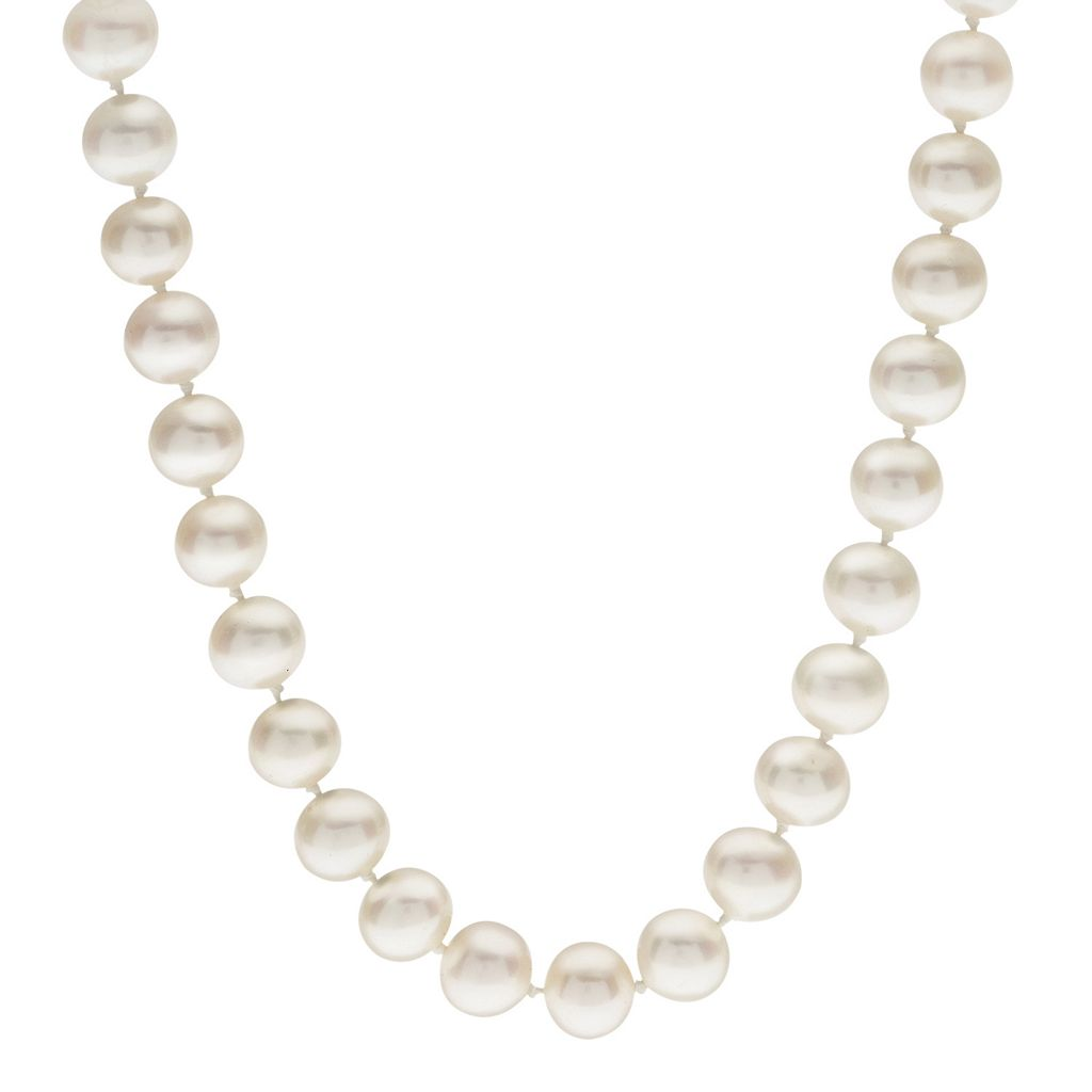 PearLustre by Imperial 7-7.5 mm Freshwater Cultured Pearl Necklace - 30 in.