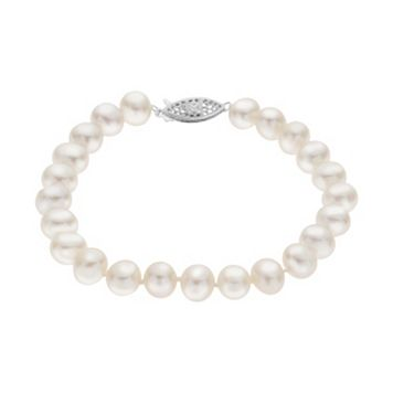 PearLustre by Imperial 7-7.5 mm Freshwater Cultured Pearl Bracelet - 7.5 in.