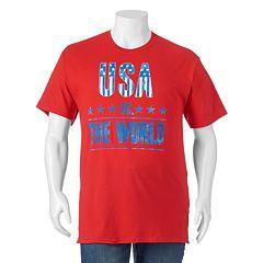 Big & Tall 'USA Vs. The World' Tee
