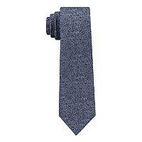 Van Heusen Solid Skinny Tie with Tie Bar - Men