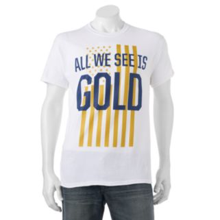 "Big & Tall ""All We See Is Gold"" Tee"