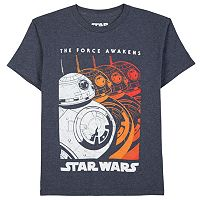 Boys 8-20 Star Wars: Episode VII The Force Awakens BB-8 Ripple Tee