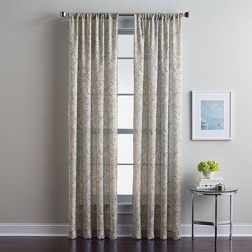 CHF Winston Paisley Window Curtain