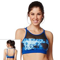 Shape Active Bra: Mesh Inset Medium-Impact Sports Bra SU16333