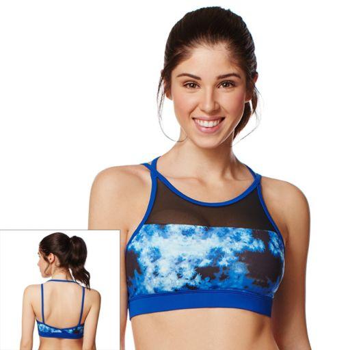 Shape Active Bra: Mesh Inset Medium-Impact Sports BraSU16333