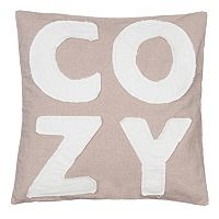 ''Cozy'' Throw Pillow